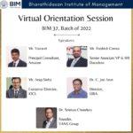 Virtual Orientation Session